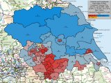 UK General Election Forecast for Yorkshire and Humberside