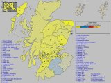 UK General Election Results for Scotland