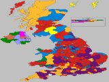 UK General Election Results 2nd Place