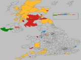 UK General Election Results Losses