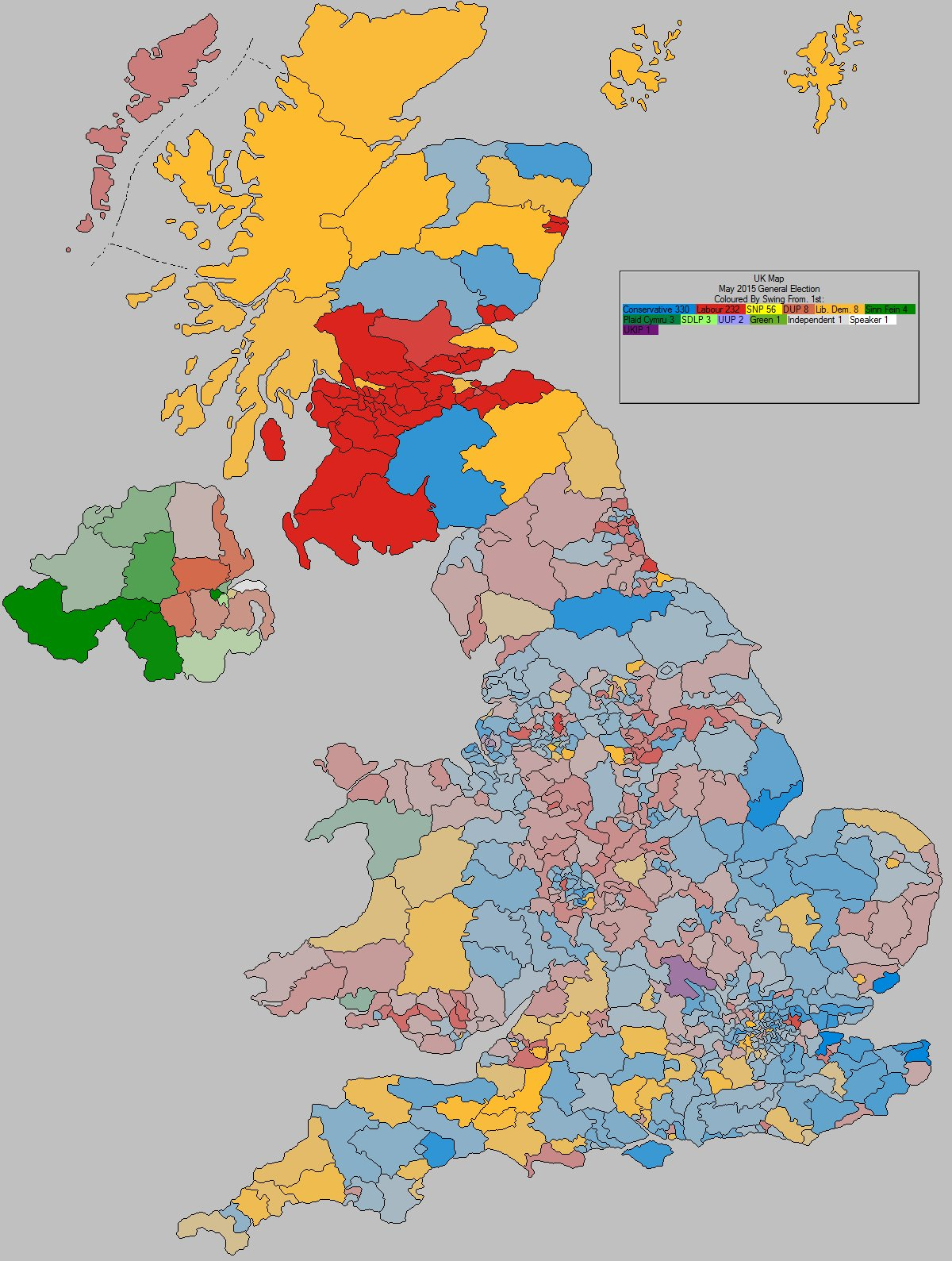 Map Of England 2017.Uk Elect Uk Election Forecasting Uk Political Maps