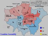 Forecast for London (Labour Vs Conservative Percentages)