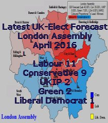 Latest UK-Elect London Assembly Forecast