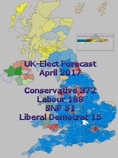 Latest UK-Elect General Election Forecast
