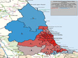UK General Election Forecast for North East England