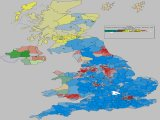 UK General Election Forecast for UK with Gains