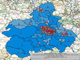UK General Election Forecast for West Midlands