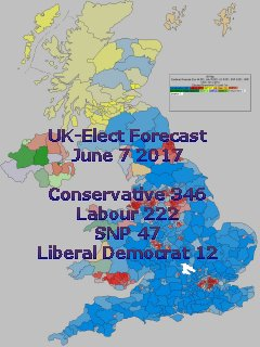 Latest UK-Elect General Election Forecast