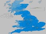 UK General Election Results - Conservative percentages