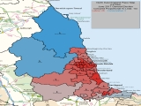 UK General Election Results for North East England
