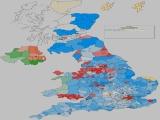UK General Election Results - UKIP percentages increase