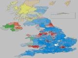 UK General Election Results for UK