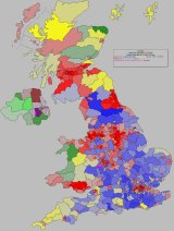 2001 General Election Summary