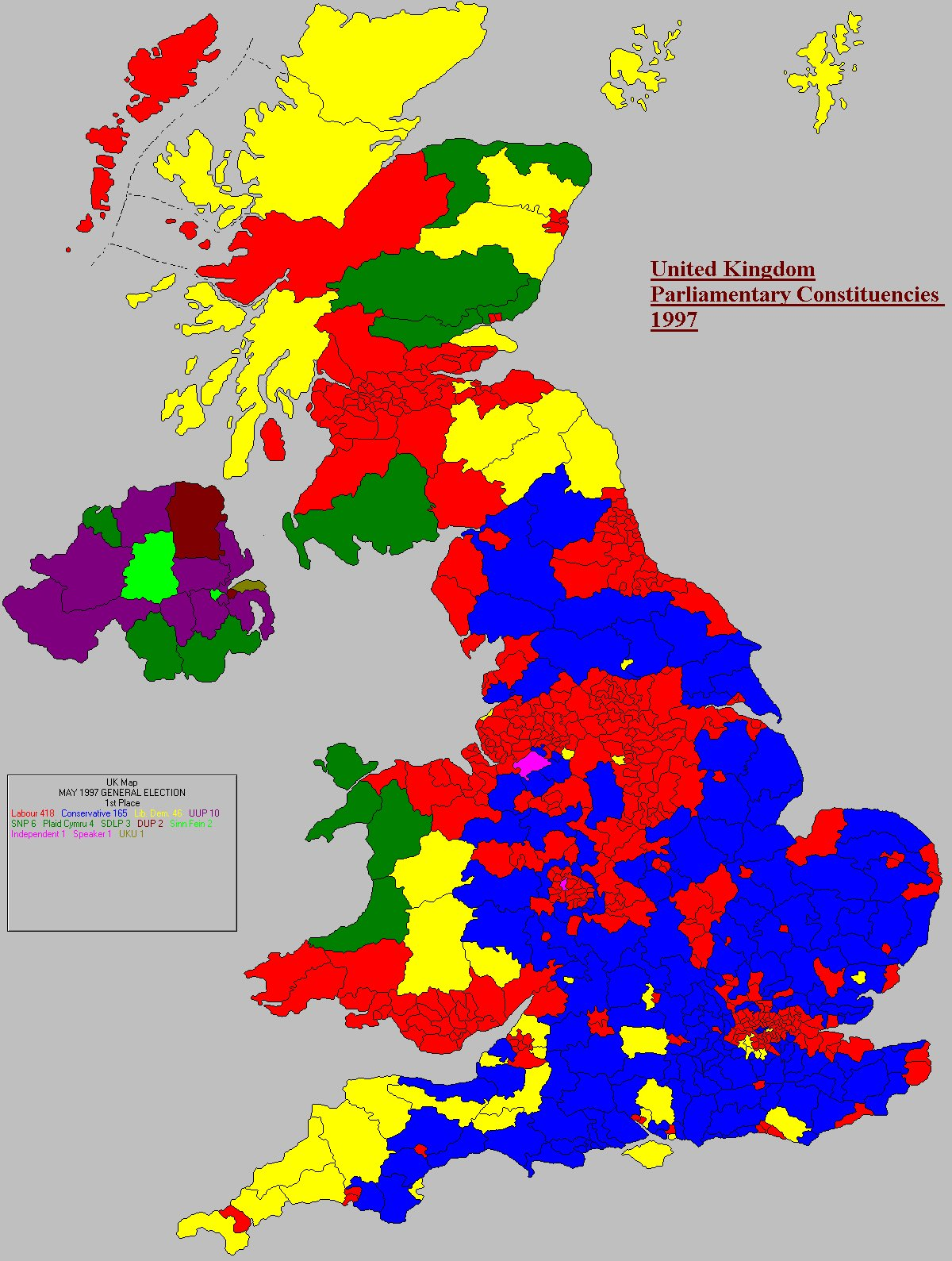 UK Elect : 1997 General Election