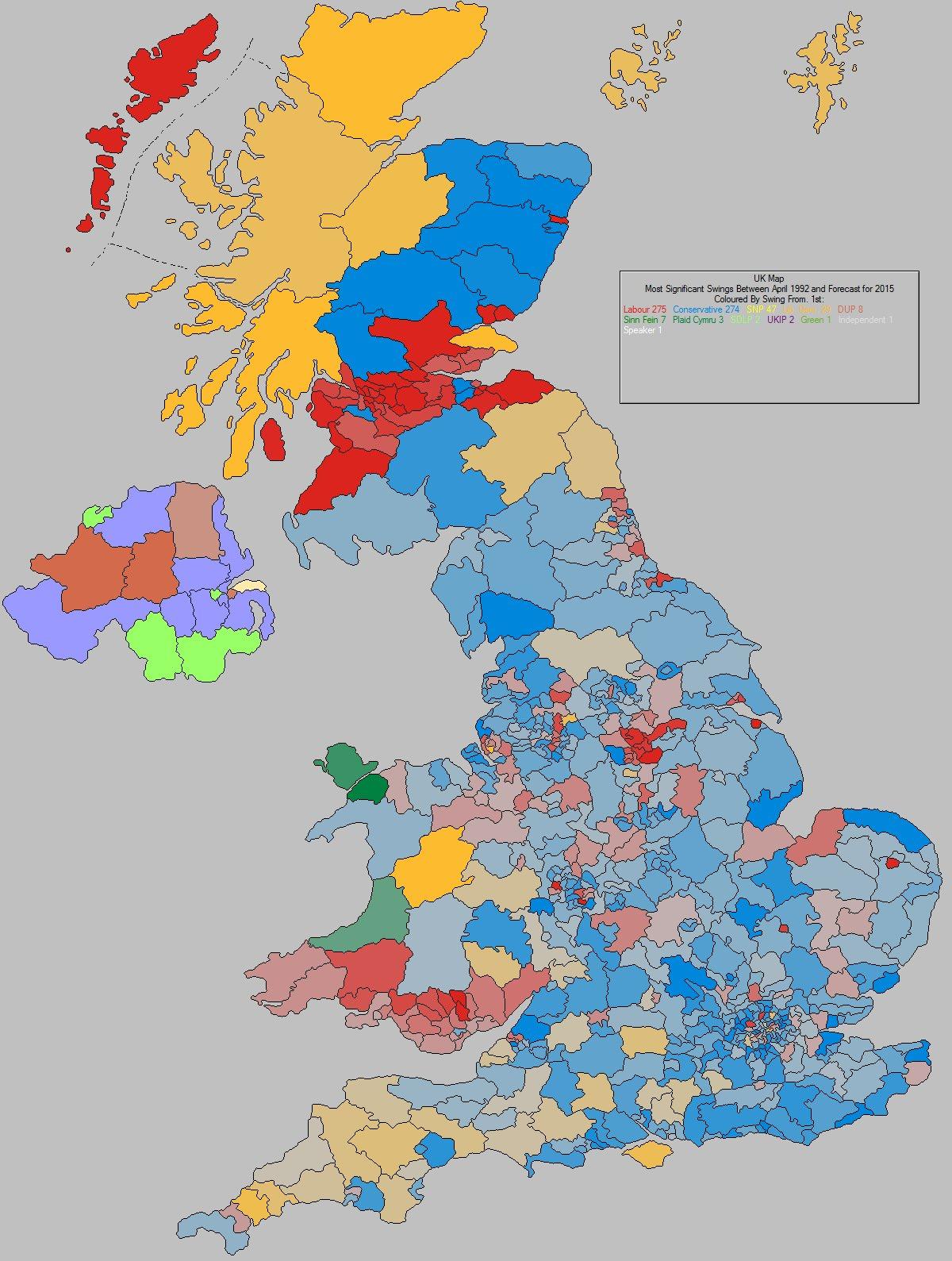 Map Of Uk Parliamentary Constituencies.Uk Elect Uk Election Forecasting Uk Political Maps