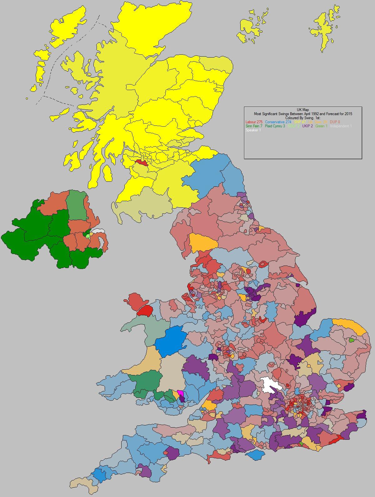 Map Of England 2015.Uk Elect Uk Election Forecasting Uk Political Maps