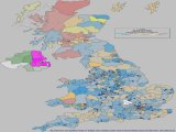 General Election 2010 - Swings to a party